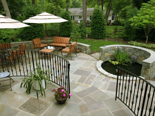 8 best images about patio ideas on pinterest outdoor patios chairs and outdoor fireplaces - Backyard design companies ...