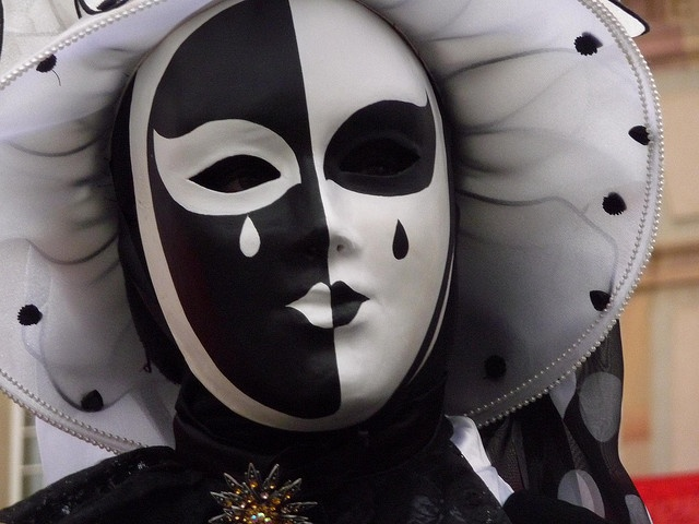 life is a masquerade.......