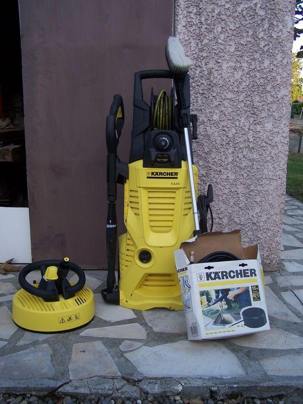 Les 25 meilleures id es concernant nettoyeur haute pression sur pinterest promo lave linge l - Karcher aspire et lave ...