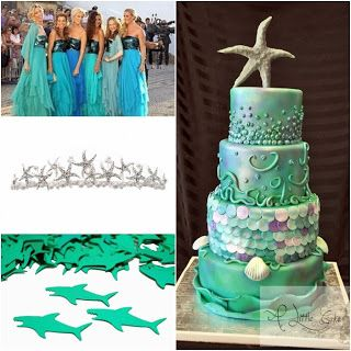 Under the Sea Sweet Fifteen Theme #quinceanera