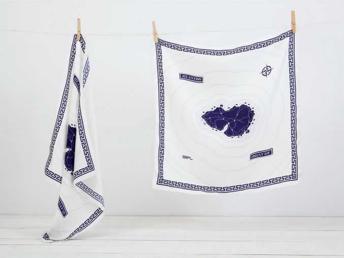 Atlantish Scarf | Greece is For Lovers