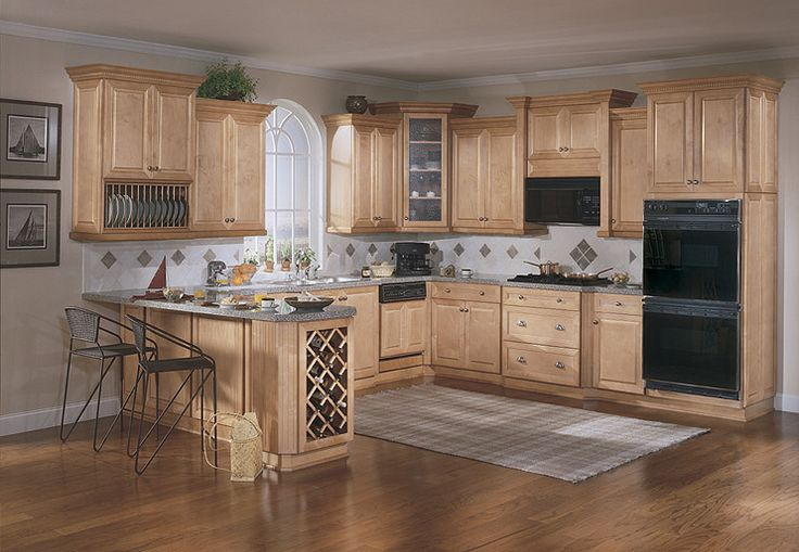 Light Maple Cabinets
