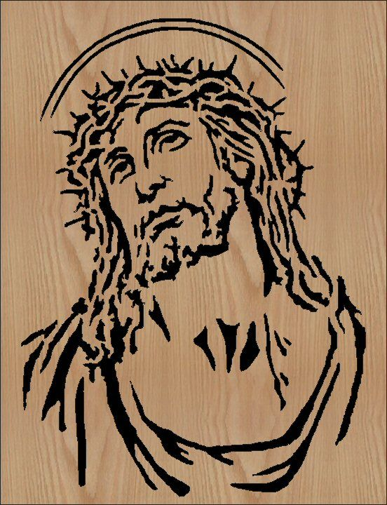 free scroll saw patterns | Crown of Thorns - 8 X 10 - $5.00