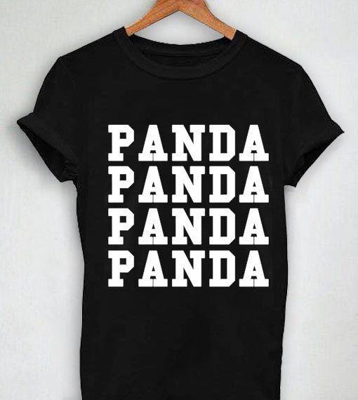 Unisex Premium Tshirt Panda Desiigner Logo