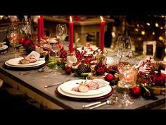 Festliche Tischdekoration - Einfache Tricks die Gäste beeindrucken - YouTube