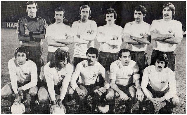 Equipos de fútbol: BARCELONA contra Ipswich Town 07/03/1979 (2)