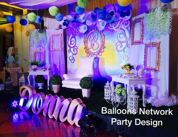 15 best debut decorations images on pinterest debut for Table design for debut