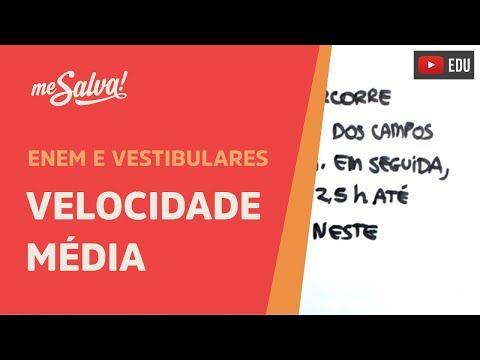 Me Salva! CIN01 - Velocidade Média - YouTube