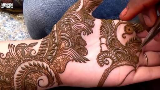 Arm Mehndi Style : Intricate palm and arm mehndi google search mehandhi design