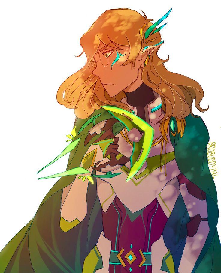 Altean Green Paladin Pidge from Voltron Legendary Defender