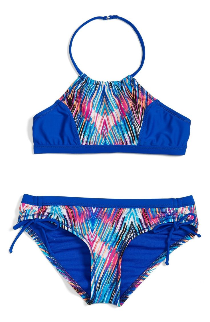 Zella Girl Two-Piece Swimsuit (Big Girls) available at #Nordstrom