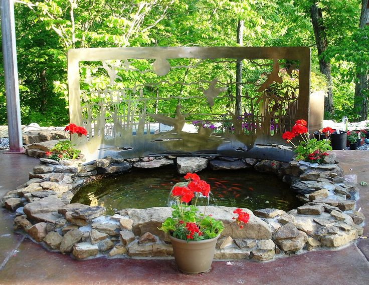1000 images about goldfish pond ideas on pinterest for Outdoor goldfish pond ideas