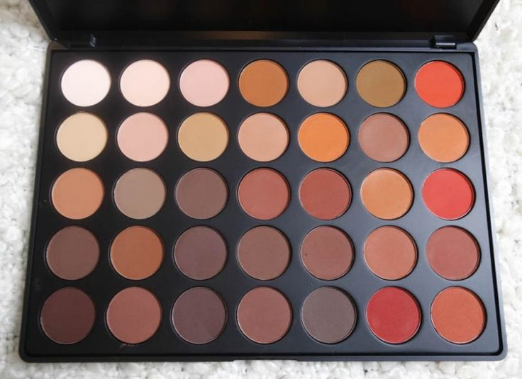 Morphe 350M Palette: Review   Swatches