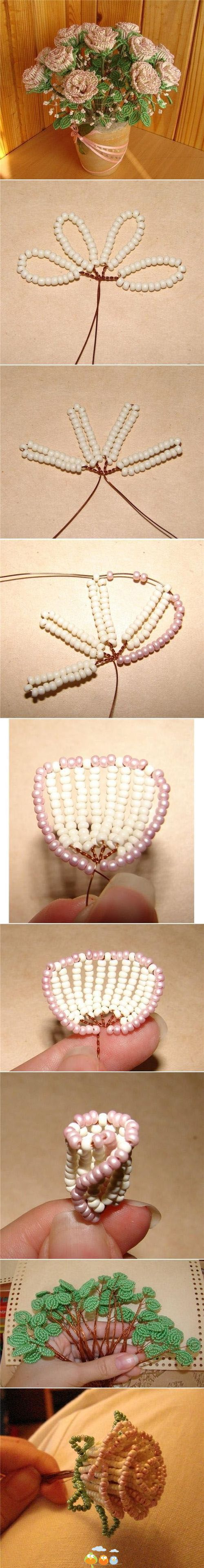 This technique is French Beading