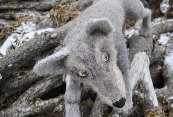 Wolf. Leader. от FeltFashionmagazine на Etsy