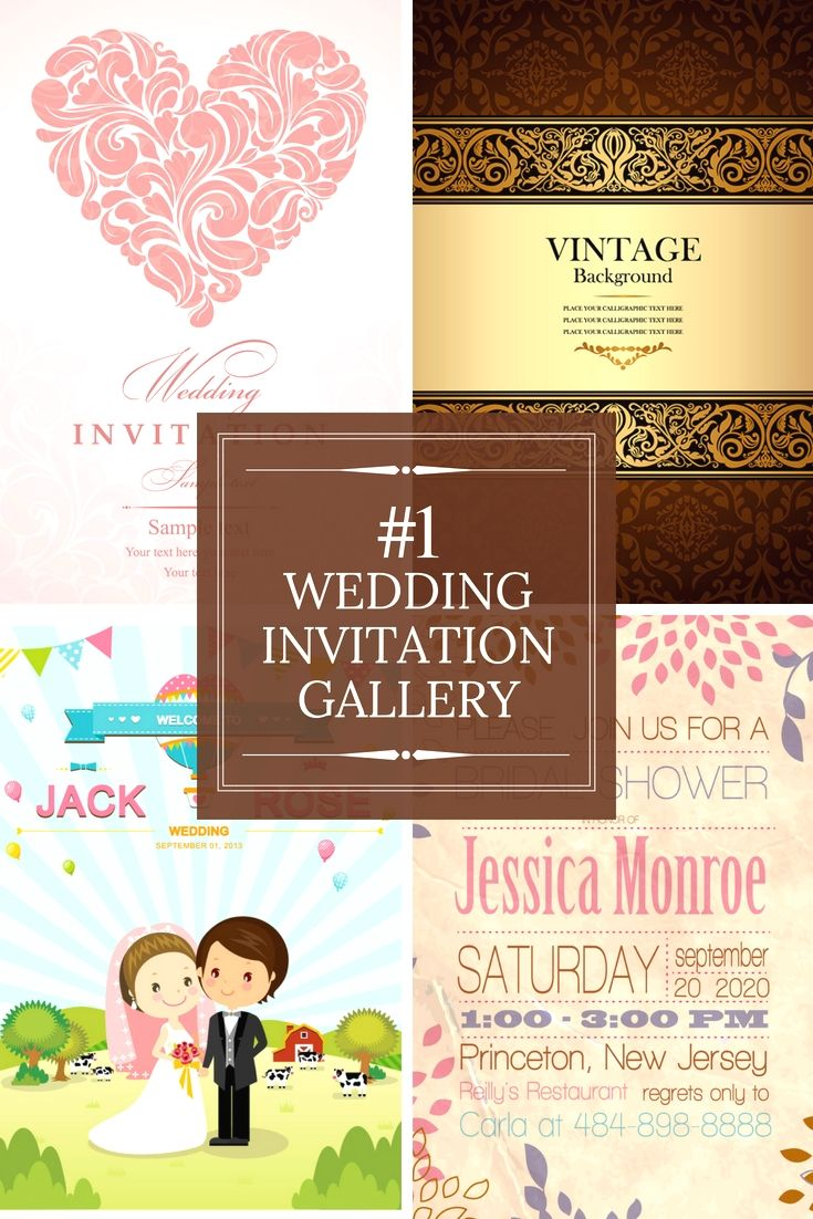 Completely Free Wedding Invitation Cards Examples