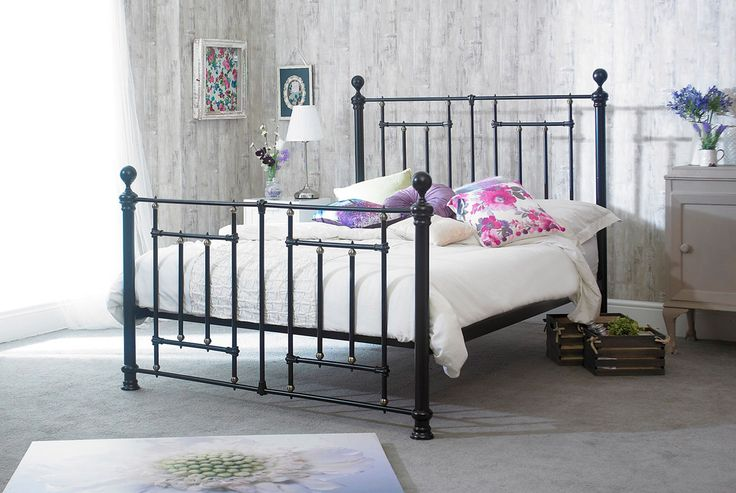 Sar Beds Fullerton 4FT 6 Double Metal Bedstead