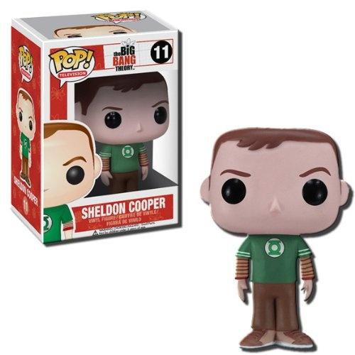 Funko POP Television: Sheldon Cooper -Green Lantern