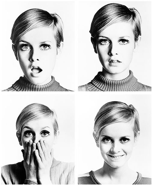 Twiggy photographed by Bert Stern, 1967.