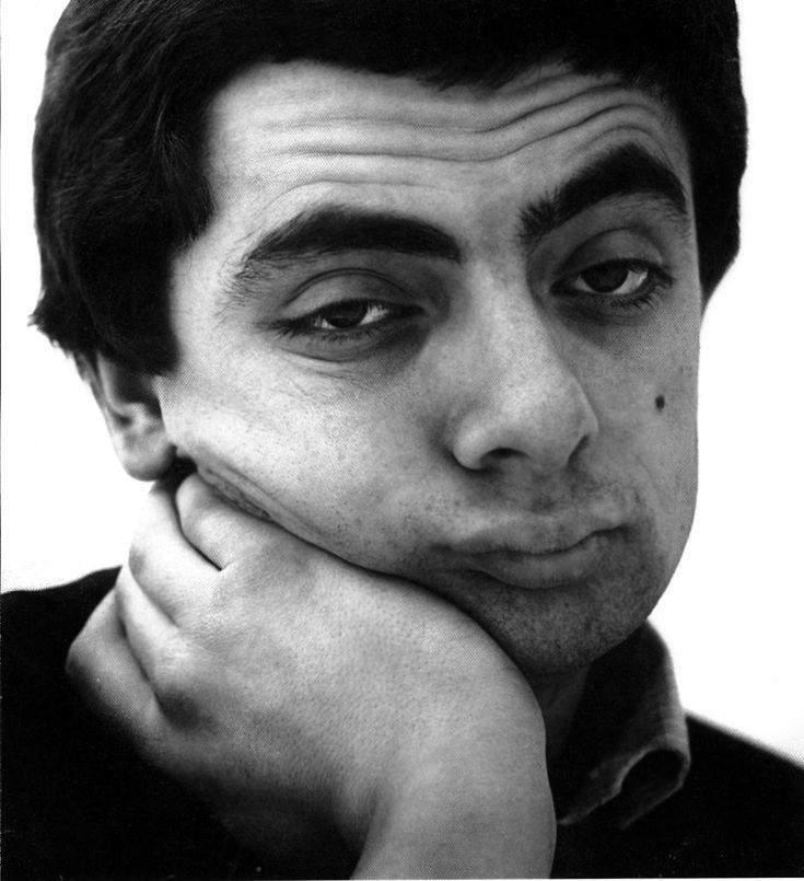 British comedian and actor Rowan Atkinson, 1981 by Lord Snowden. S)