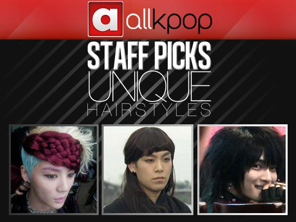 Staff Picks: Unique K-Pop Hairstyles [Male] #allkpop #kpop