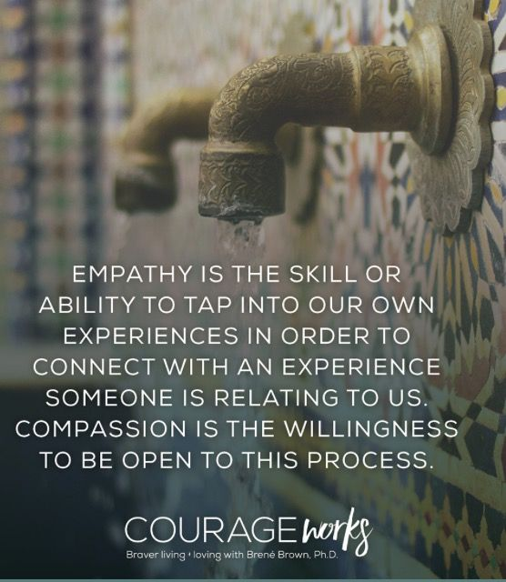 Empathy & Compassion - Brene Brown