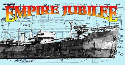 Model Boat Plans 1/144 Scale Radio Control Catapult Aircraft Merchant ship Plans