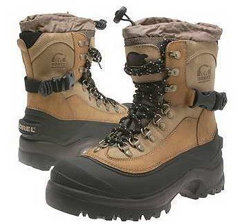 Охотничая зимняя обувь