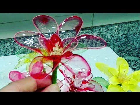 Flowers  gelatin.Flori din gelatina.Flores de gelatina. - YouTube