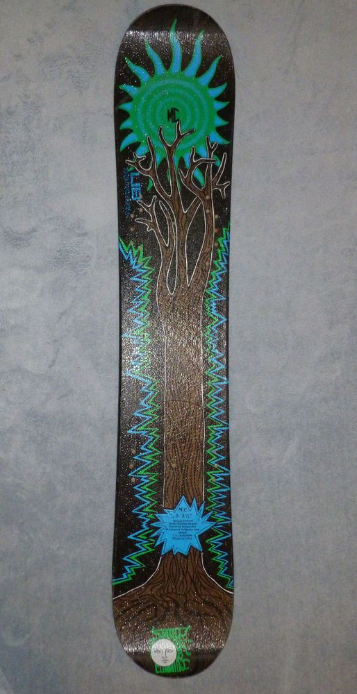 "Vintage Matt Cummins Lib Tech Snowboard TREE 5' 2.5"" (62.5"") #LibTechnologies $765.00"