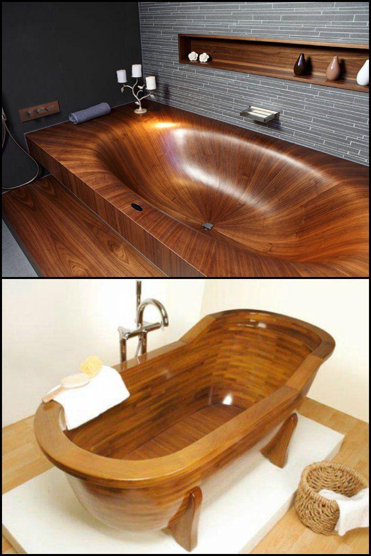 Wooden Bathtub 81 Best Bathroom Ideas Images On Pinterest