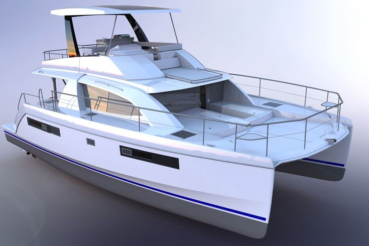 New Leopard 43 Power Catamaran