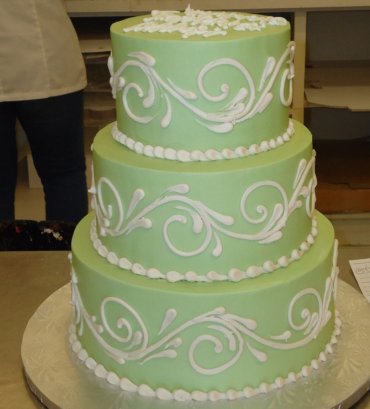 Simple & Elegant cake by Delicious Cakes Addison
