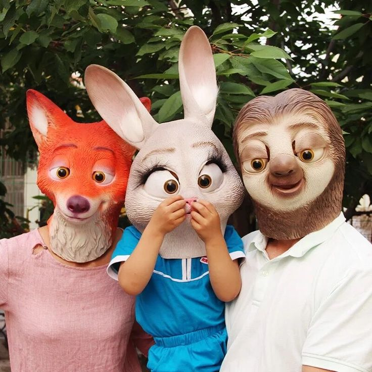 >> Click to Buy << For Zootopia Fox Nick Judy Rabbit Sloth Full Head Mask Unisex Funny Latex Cosplay Animal Masks for Party Halloween #Affiliate