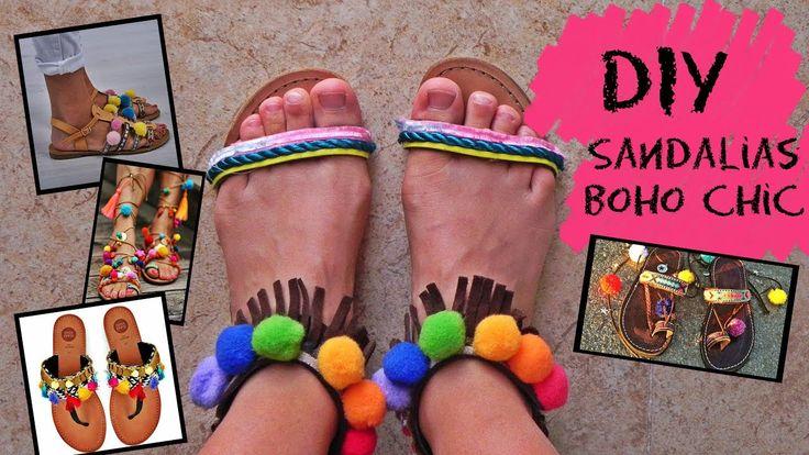 DIY: Sandalias boho chic