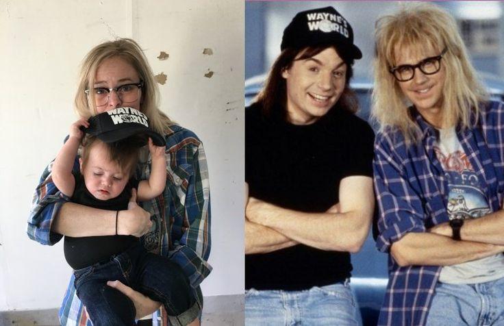 Wayne Campbell and Garth Algar from Wayne's World | Easy Baby Costumes | POPSUGAR Moms Photo 4