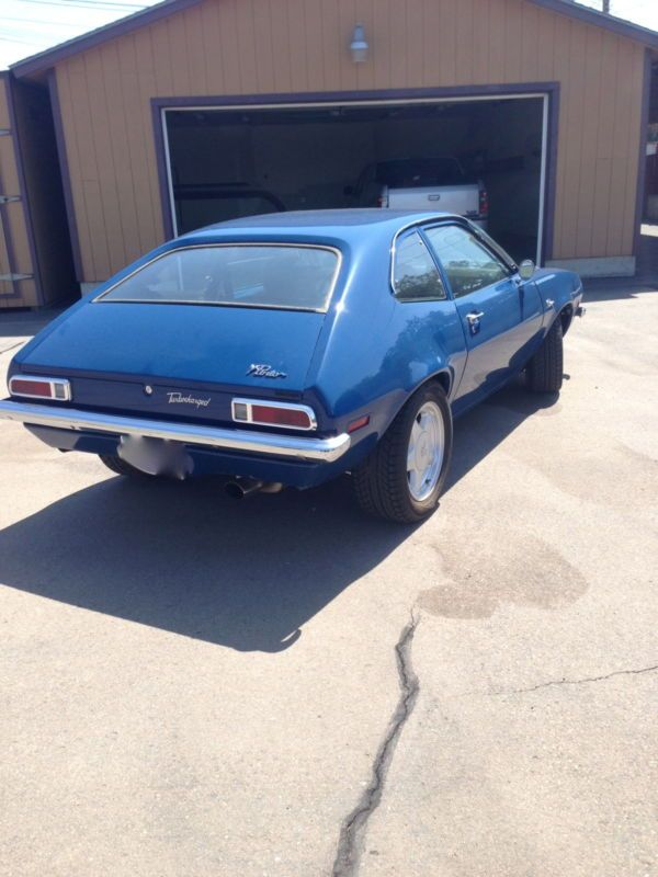 1972 Ford Pinto Coupe Turbo Turbocharged
