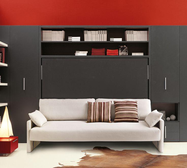 Oltre 25 fantastiche idee su divano in legno su pinterest - Divano con mobile incorporato ...
