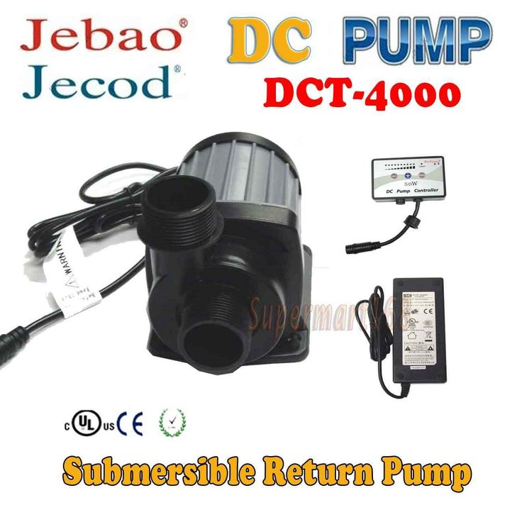 Pumps Water 77641: Jebao Dct4000,Dct6000,Dct8000,Dct12000 Dct15000 75,90,125,150,180 Gallon Tank BUY IT NOW ONLY: $137.95
