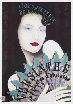 Philippe Sommer poster: Versinthe