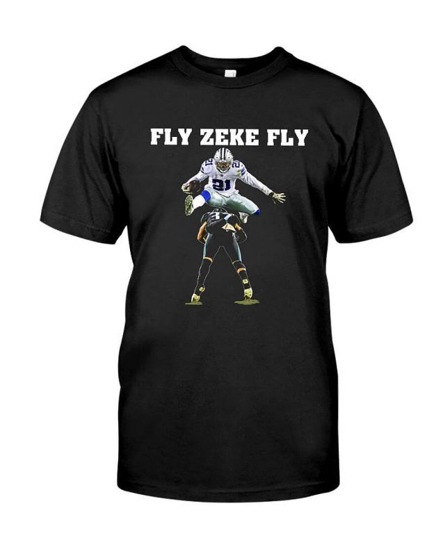 Official Ezekiel Elliott Fly Zeke Fly Shirt 136bc7d77
