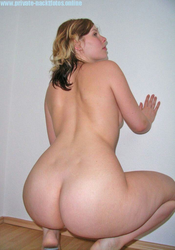 image Chubby booty milf in black track panic vpl 2