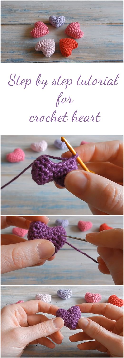 This guide will take you through the process of creating an amazing and beautiful heart crochet with the step-by-step tutorial + Video
