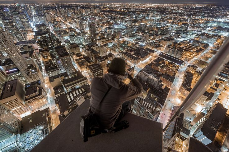 Photograph Tonight, this is your city by Roof Topper on 500px