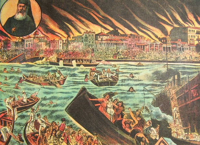 The disaster of Smyrna meant the end of the three thousand year Hellenic presence in Asia Minor. A million refugees leave for Greece, a land that is ...