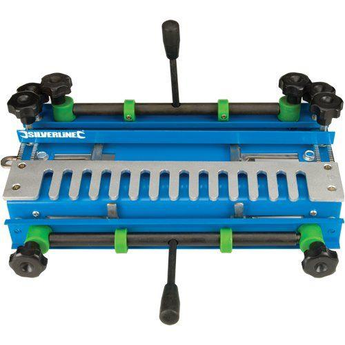 Silverline 633936 -  Plantilla para juntas cola de milano .Anchura máxima de corte 300 mm