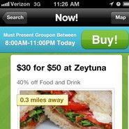 Groupon and Foursquare End Distribution Deal