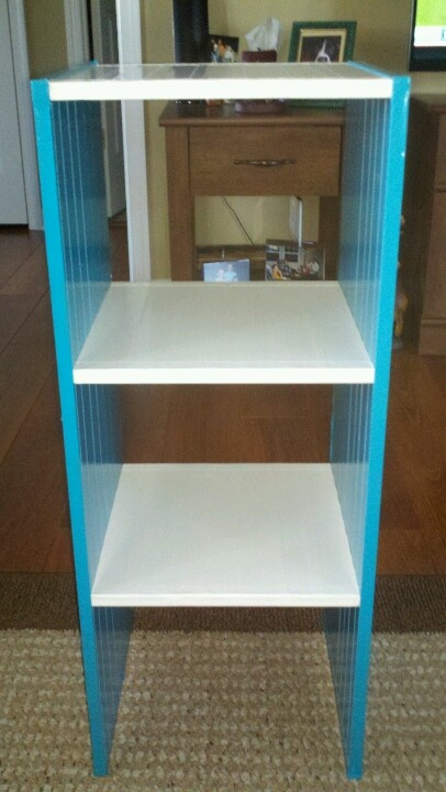 duct tape to the rescue too cold to spray paint this old book shelf. Black Bedroom Furniture Sets. Home Design Ideas