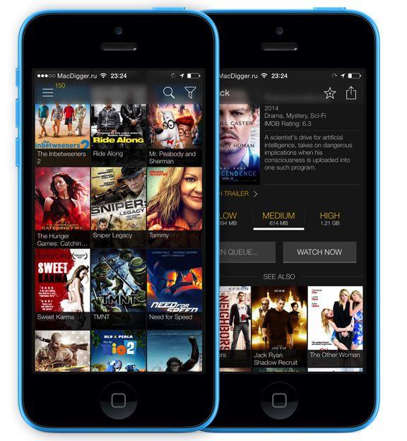 Как смотреть фильмы из торрент-сетей на iPhone и iPad без джейлбрейка   Обзор возможностей сервиса Movie Box для просмотра видео.