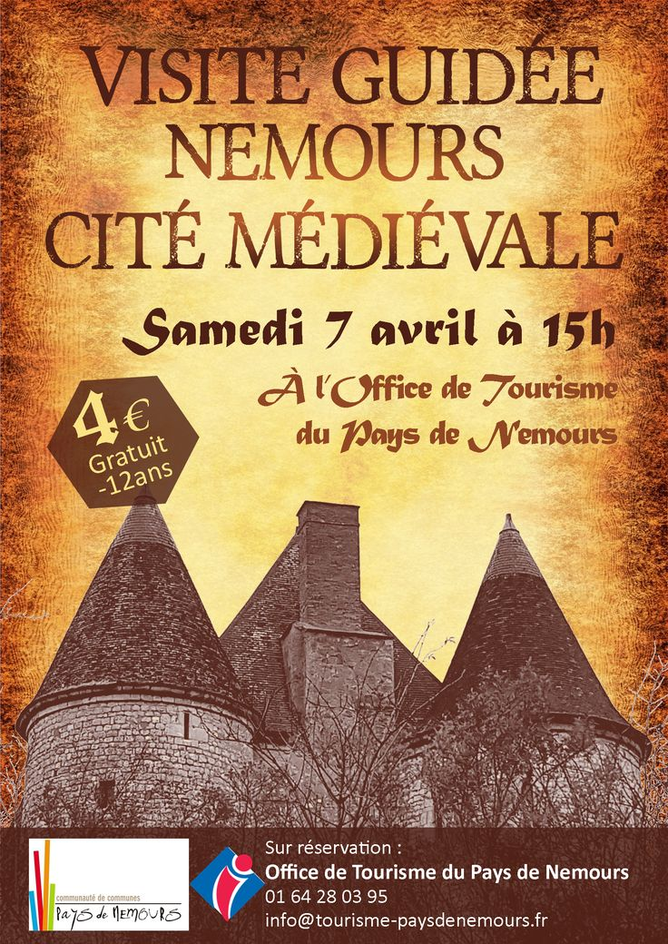 41 best nemours images on pinterest castles cities and forts - Office du tourisme nemours ...